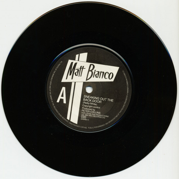 Sneaking Out The Back Door (7inch, 45rpm)