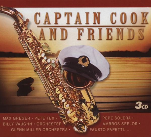 Captain Cook & Friends (3-CD)