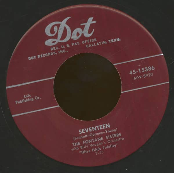 Seventeen - If I Could Be With You (7inch, 45rpm, BC)