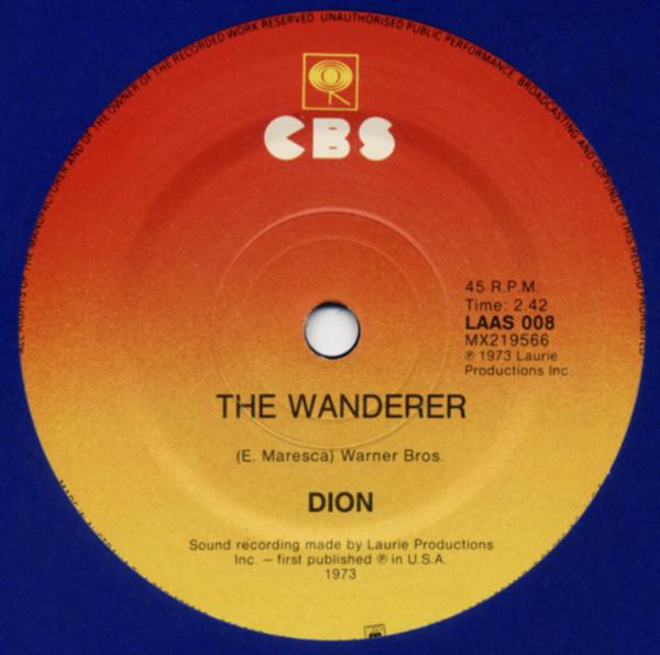 The Wanderer b-w Runaround Sue 7inch, 45rpm, SC