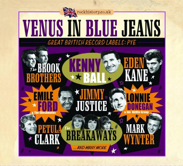 Venus In Blue Jeans: Great British Labels: Pye (2-CD)
