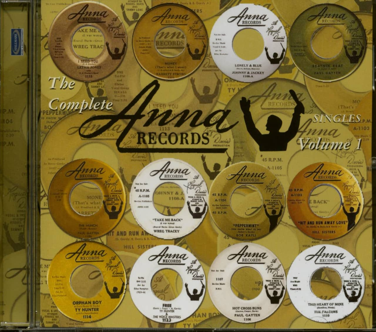 Various - The Complete Anna Records Vol.1 (CD)