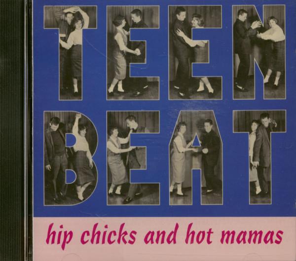 Teen Beat - Hip Chicks & Hot Mamas (CD)
