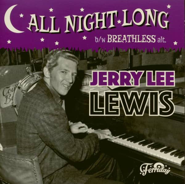 All Night Long - Breathless (7inch, 45rpm, PS)