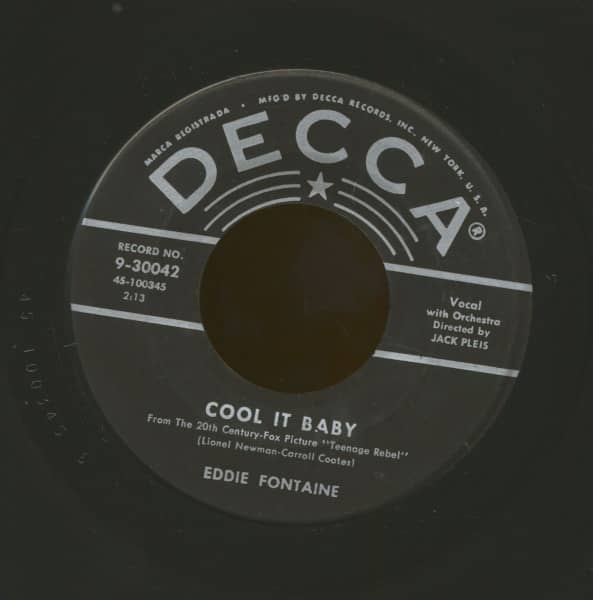 Cool It Baby b-w Into Each Life Some Rain Must Fall (7inch, 45rpm)