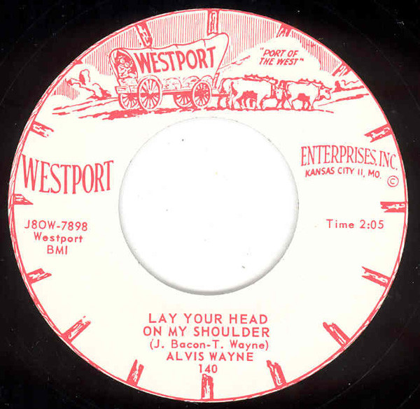 Lay Your Head On My Shoulder b-w You Are The One (7inch, 45rpm Repro)