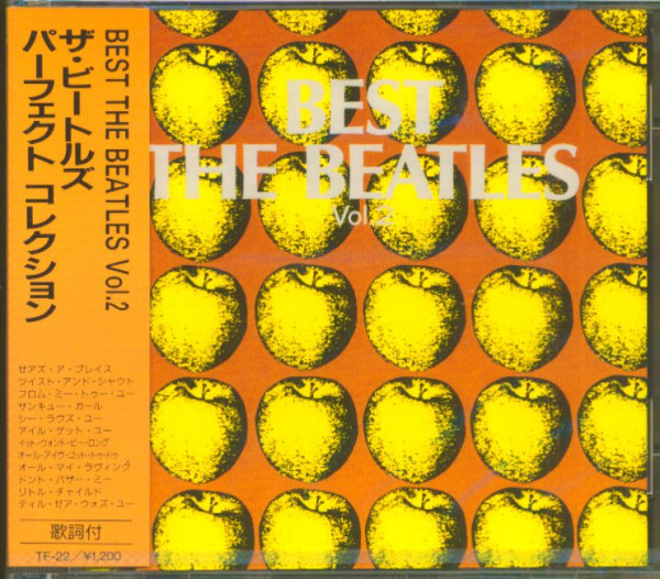 Best - The Beatles, Vol.2 (CD, Japan)