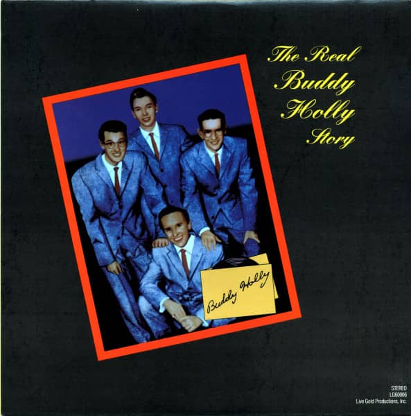 The Real Buddy Holly Story (LP)