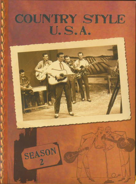 Season 2, (DVD) Country Style USA