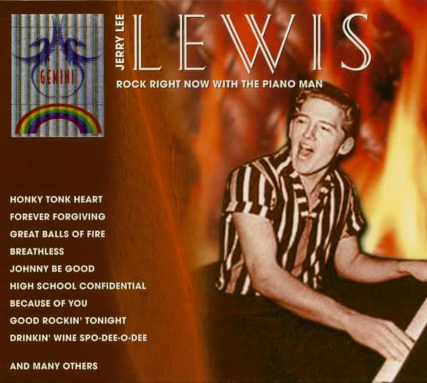 Rock Right Now With the Piano (2-CD)