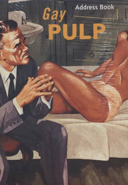 Gay Pulp - Adress Book - Chronicle Books