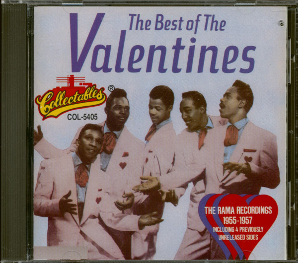 The Best Of The Valentines (CD, Cut-Out)