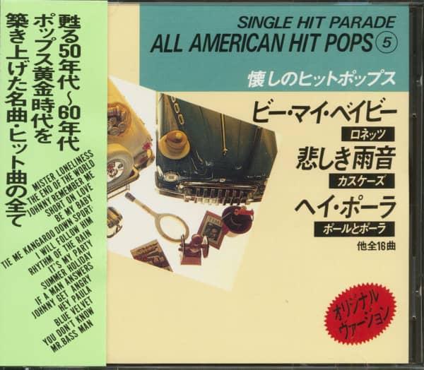Single Hit Parade - All American Hit Pops 5 (CD, Japan)