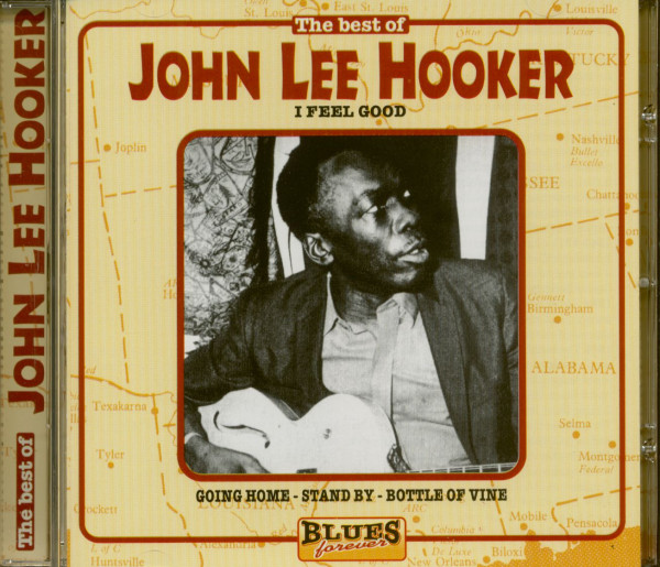The Best Of John Lee Hooker - Blues Forever (CD)
