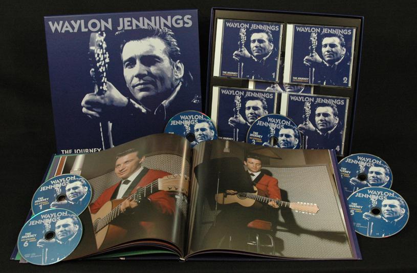 Waylon Jennings Box Set The Journey Six Strings Away 6