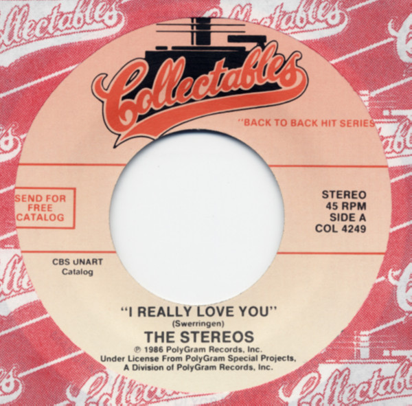 I Really Love You b-w A Walk In The Black Forest 7inch, 45rpm