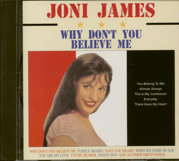 Why Don't You Believe Me (CD)