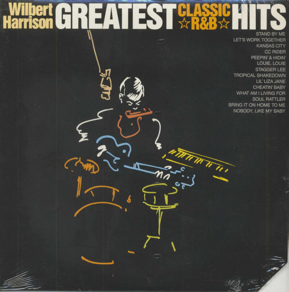 Greatest Classic R 'n' B Hits (LP)