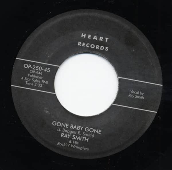 Gone Baby Gone b-w Swinging Boogie 7inch, 45rpm