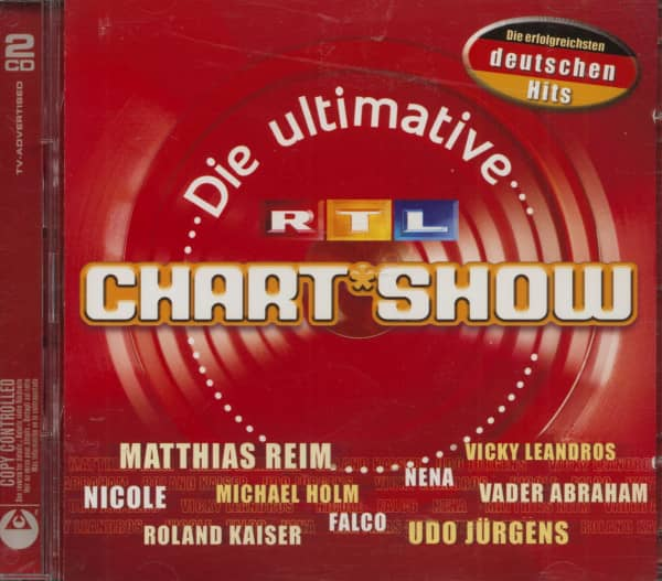 Die Ultimative RTL Chart-Show - Die Erfolgreichsten Deutschen Hits (2-CD)