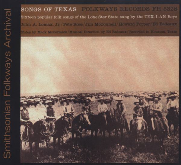 Songs Of Texas (by The Tex-I-An Boys)