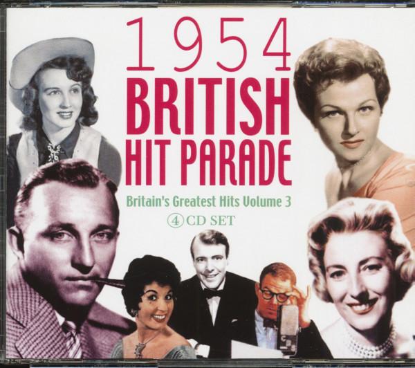1954 - British Hit Parade Vol.3 (4-CD)