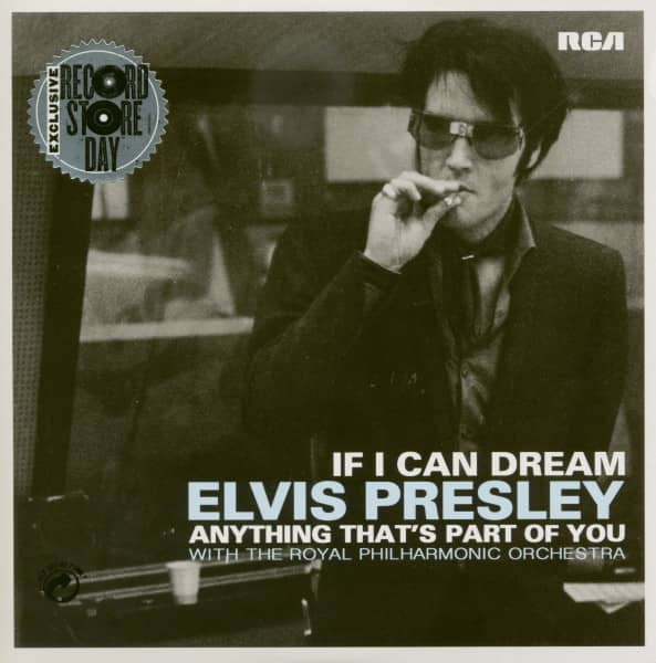 If I Can Dream - Anything That's Part Of You (7inch, 45rpm, PS, SC, Limited)