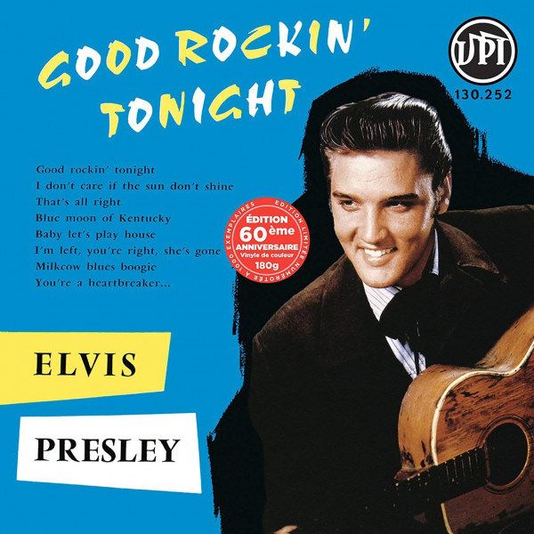 Good Rockin' Tonight (LP, 180g Vinyl, Ltd., Colored Vinyl)