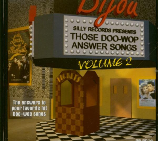 Those Doo Wop Answer Songs Vol.2 (CD)