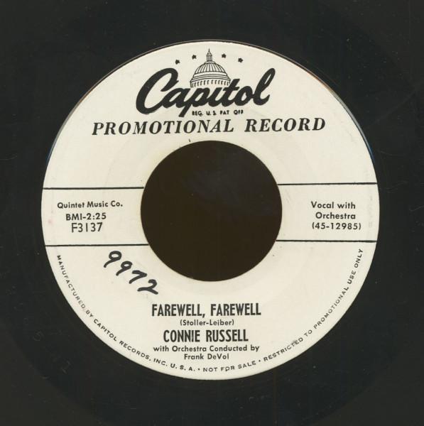 Farewell, Farewell - The Magnificent Matador (7inch, 45rpm)