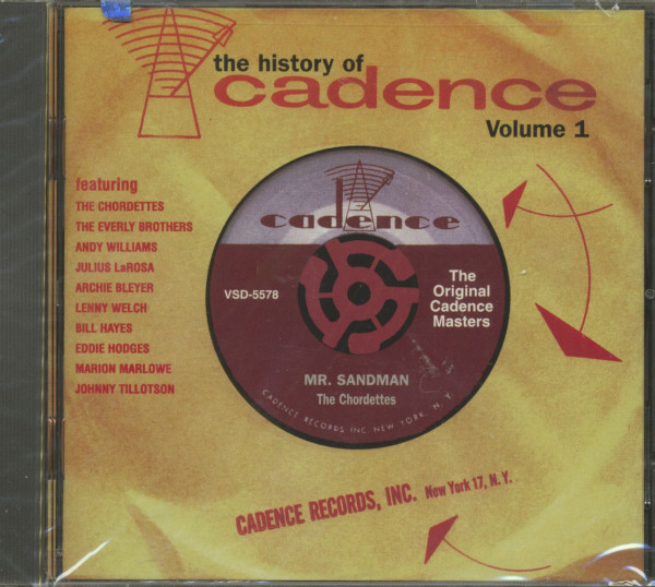 The History Of Cadence, Vol.1 (CD)