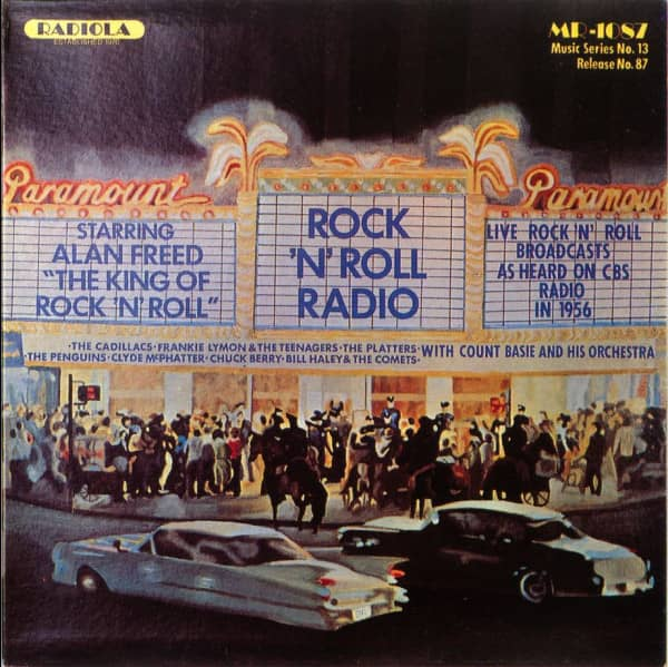Rock'n Roll Radio - Alan Freed Show On CBS (CD)