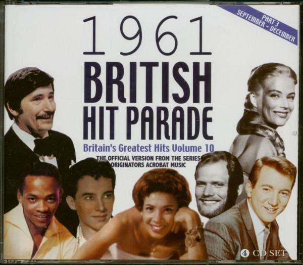1961 British Hit Parade - Britain's Greatest Hits Volume 10 - Part 3 (4-CD)