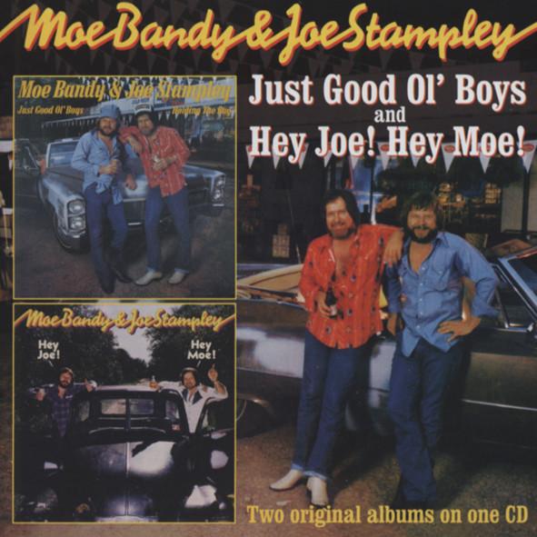 BANDY, Moe & Joe Stampley Just Good Ole Boys (79) - Hey Joe Hey Moe (81)