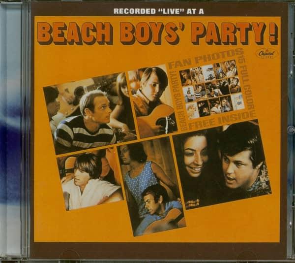 Beach Boys's Party! - Stack-O-Tracks (CD)