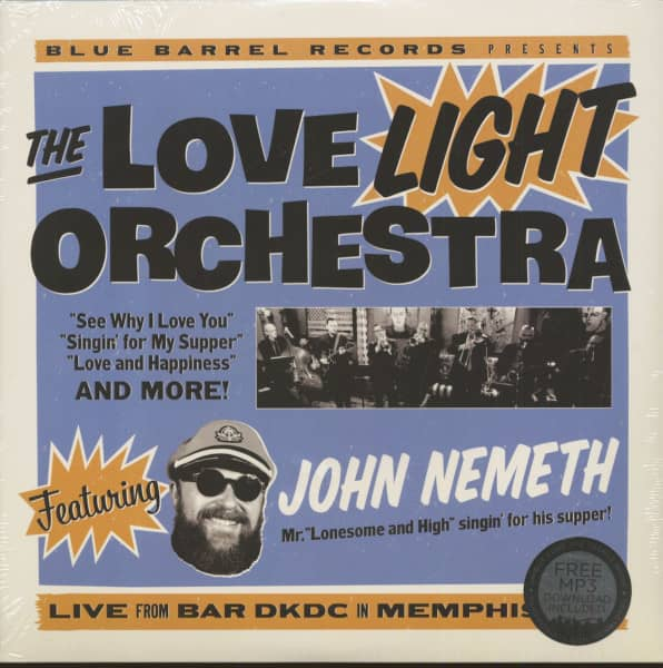 The Love Light Orchestra feat. John Nemeth (LP)