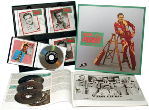 "The Wondering ""Boy"" 1951-1958 (4-CD Deluxe Box Set)"