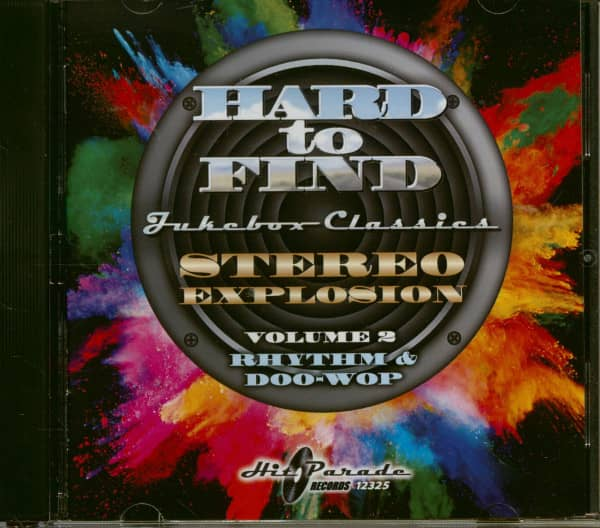 Stereo Explosion Vol.2 - Rhythm & Doo-Wop Hard To Find Jukebox Classics (CD)