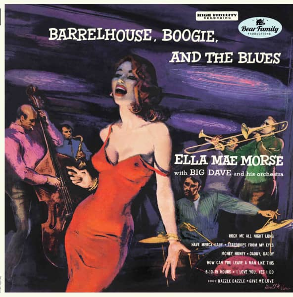 Barrelhouse, Boogie, And The Blues (10inch LP)