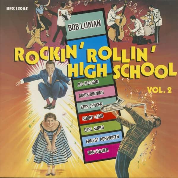 Rockin' Rollin' High School Vol. 2 (Vinyl)