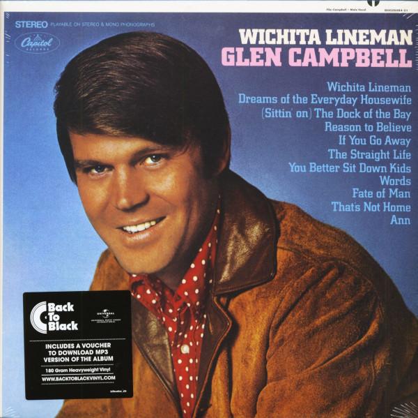 Wichita Lineman (LP, 180g Vinyl & Download)