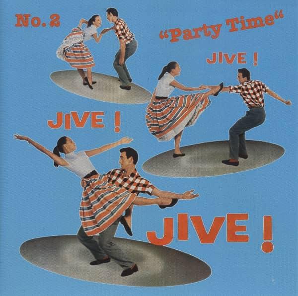 Jive Jive Jive Vol.2 - Party Time (CD)