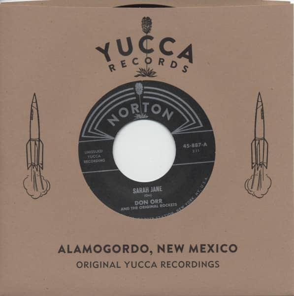Yucca Records Jukebox Series Vol.4 7inch, 45rpm - company sleeve