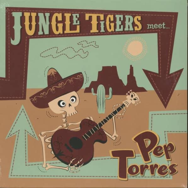 The Jungle Tigers Meet Pep Torres (LP, 10inch)