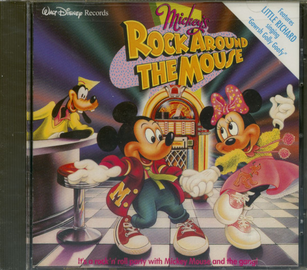 Rock Around The Mouse (CD)