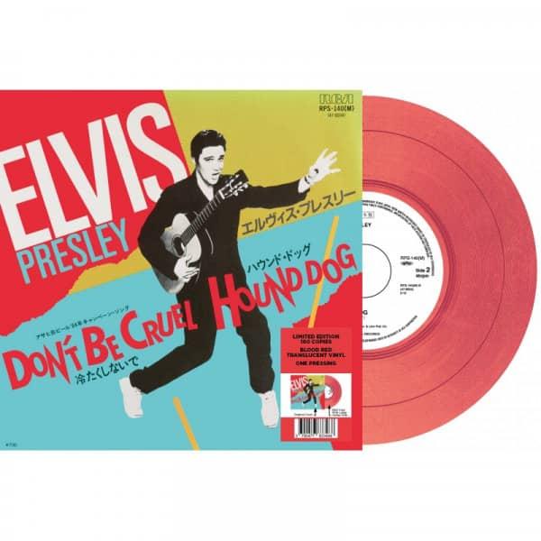 Don't Be Cruel - Hound Dog (7inch, 45rpm, Red Vinyl, Ltd.)