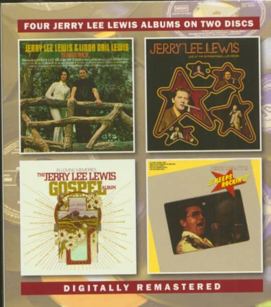 Four Jerry Lee Lewis Albums (2-CD)