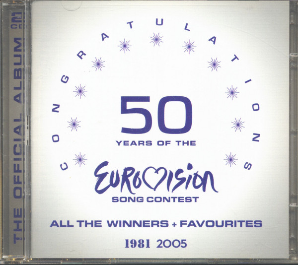 50 Years Of The Eurovision Song Contest, 1981-2005 (CD)