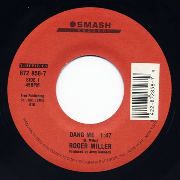 Dang Me - Chug-A-Lug (7inch, 45rpm)