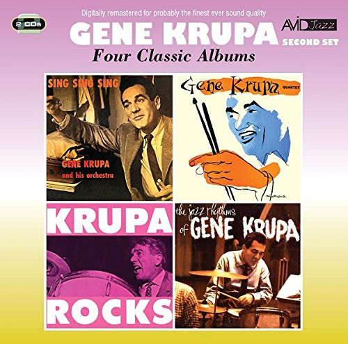 Four Classic Albums (Sing, Sing, Sing & Gene Krupa Quartet & Krupa Rocks & The Jazz Rhythms Of Gene